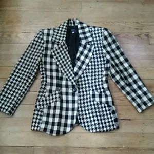 Pre-owned Shin Choi Coleridge black & white Jacket